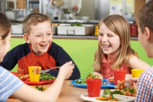 Stop eating when you are full. enjoy food at mealtimes