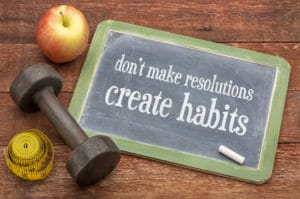 New habits take time to build
